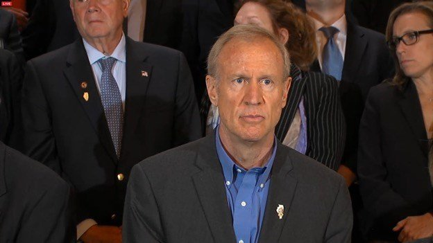 "Without a state budget deal, Illinois is like a ""banana republic,"" Gov. Rauner said."