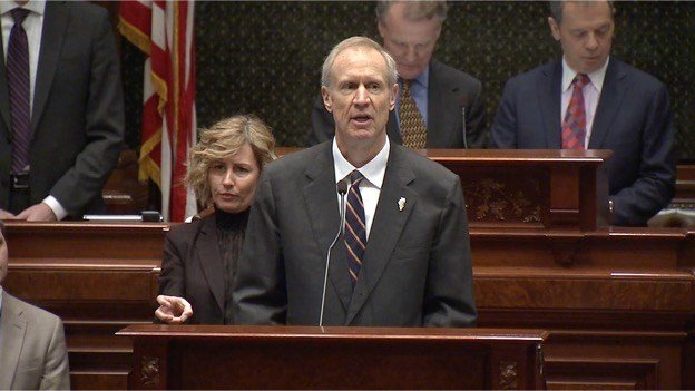 State of the State: Rauner optimistic about Illinois' future, despite budget crisis