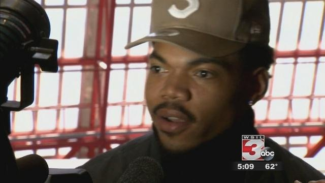 Chance the Rapper meets with IL  governor about Chicago school system