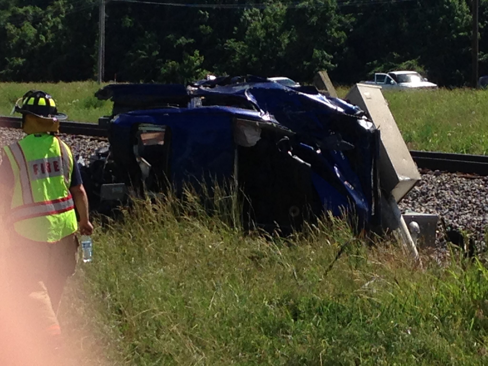 Driver killed after Amtrak train hits vehicle in Hubbard