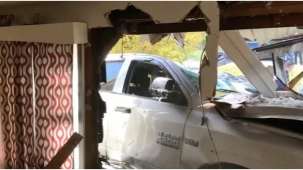 10-year-old crashes into home, says she wants to kill
