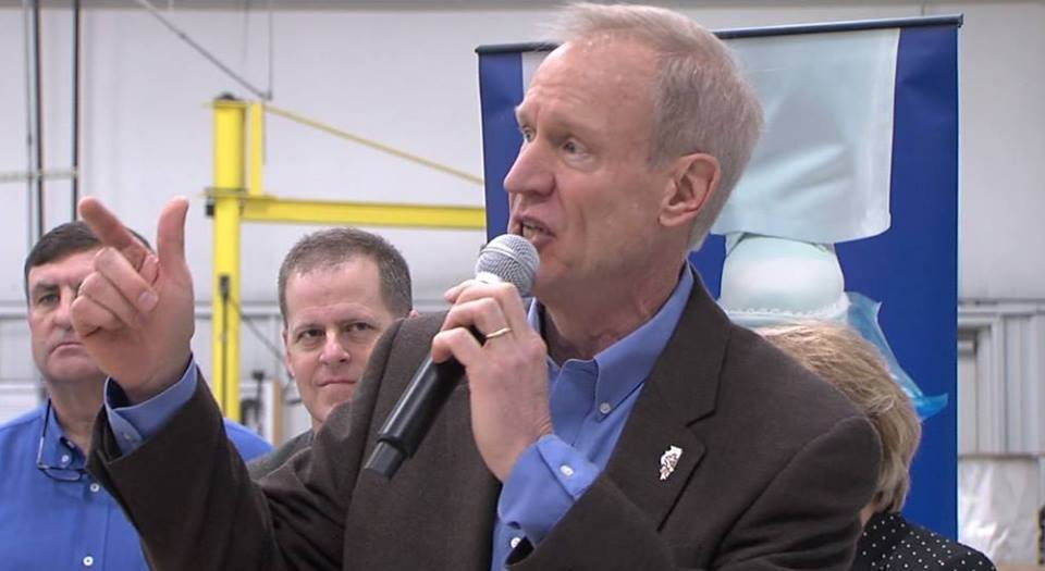 Governor: Illinois must 'roll up the sleeves' with economy