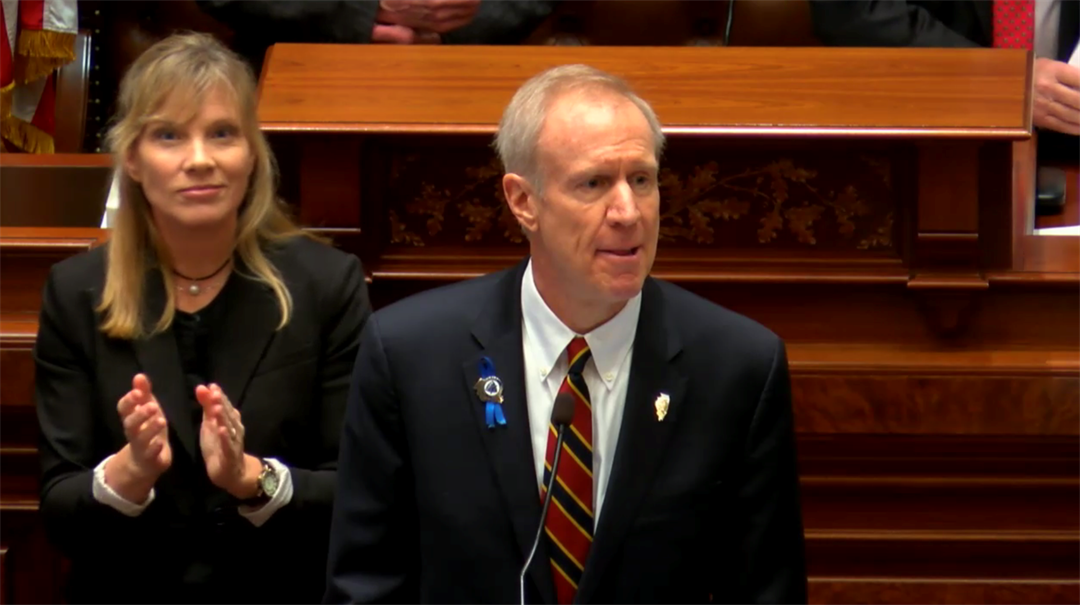 Gov. Rauner's proposed budget would shift pension costs and decrease health benefits