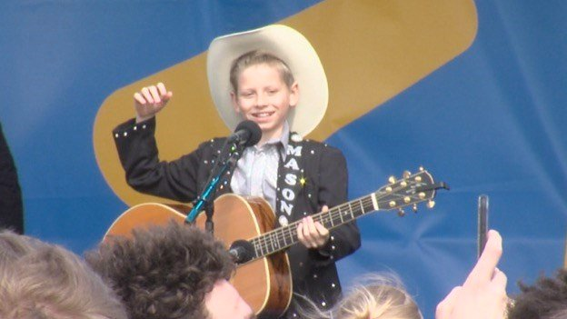 Watching 'Little Hank' Yodel In Walmart Will Make Your Day