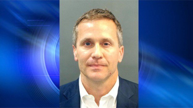 Missouri Gov. Greitens indicted on felony computer-tampering charge