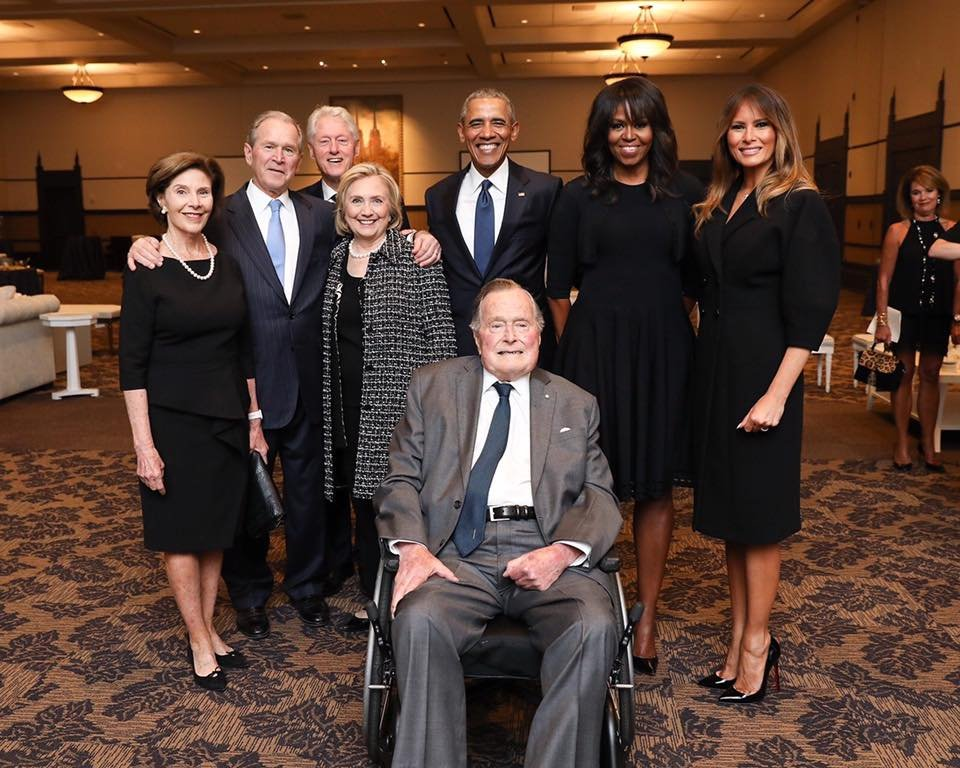 Former President George H.W. Bush turns 94