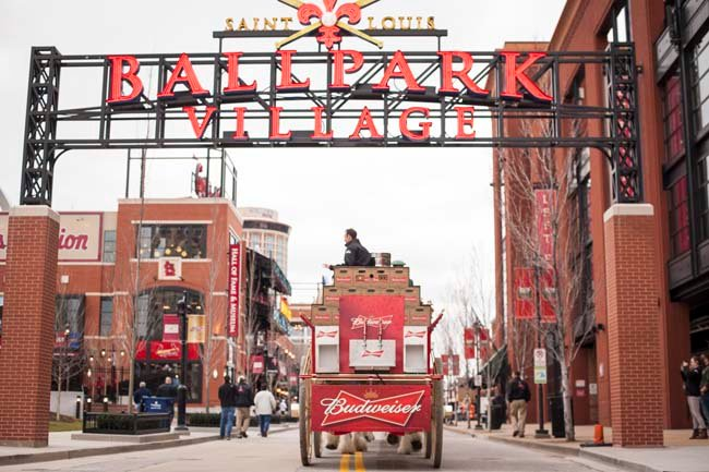 2 shot at Ballpark Village in St. Louis