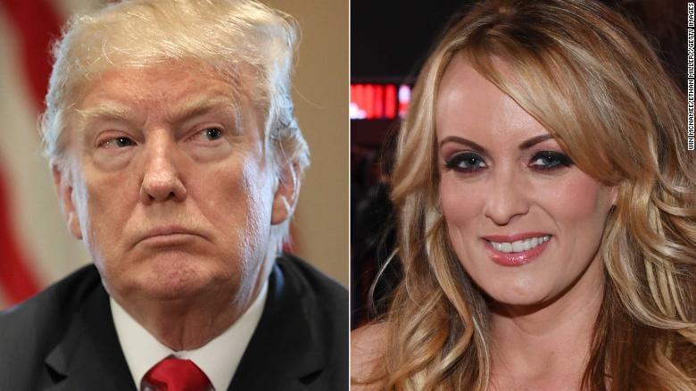 Stormy Daniels sues Trump over 'defamatory' tweet