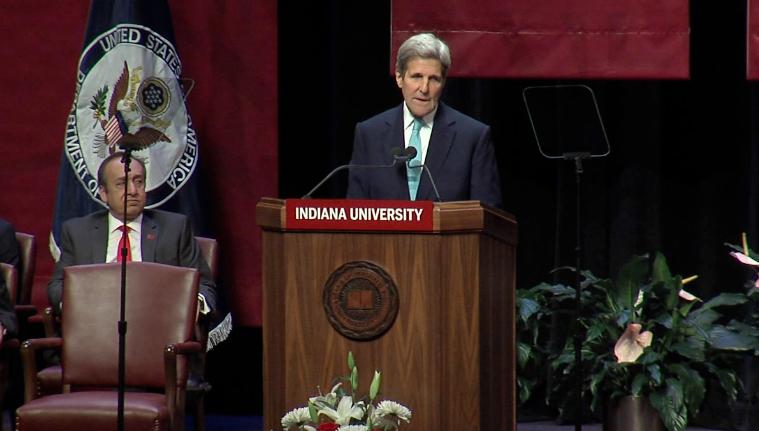 Secretary John Kerry Address