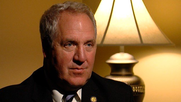 Rep. John Shimkus (R-Collinsville) in an interview with News 3 in December