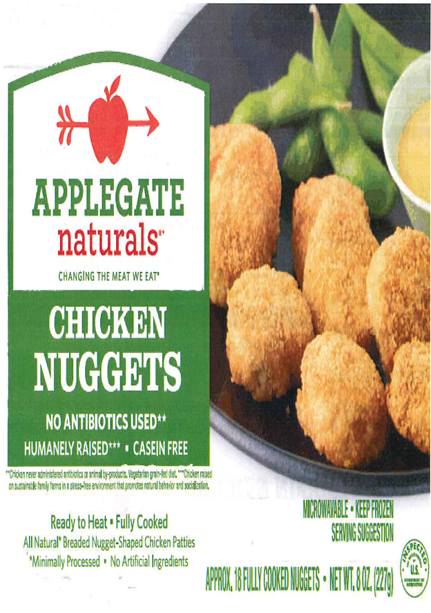 Chicken Nuggets Recalled Over Possible Contamination With Plasti