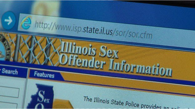 Sexual offender search illinois