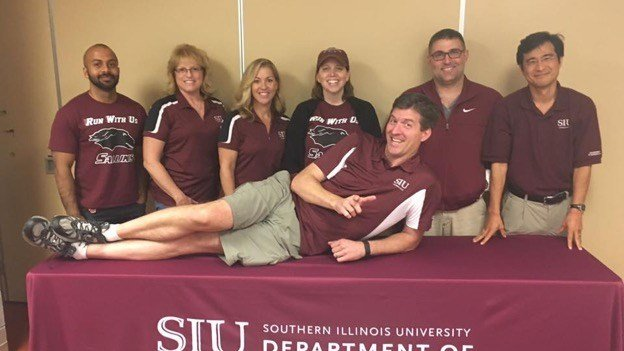 saluki spirit at SIU in carbondale