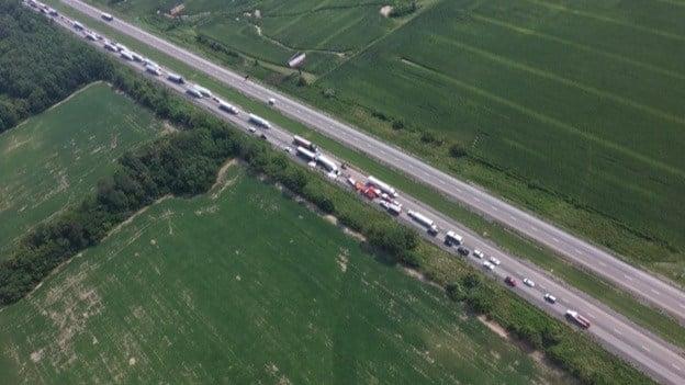 ISP: Fatal crash shuts down I-57 near Ina - WSIL-TV 3 Southern Illinois