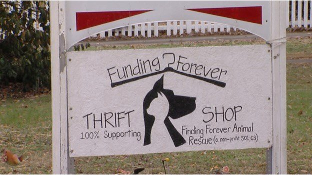 Finding Forever Opens New Thrift Store To Help Fund Rescue Shelt
