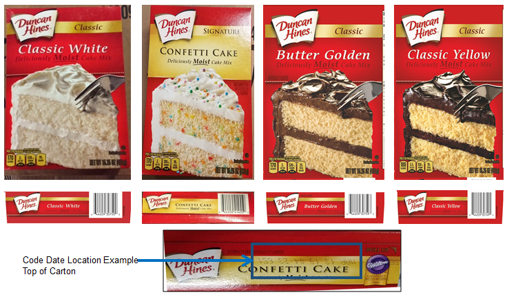 Duncan Hines Is Recalling Cake Mixes Because of Salmonella Fears