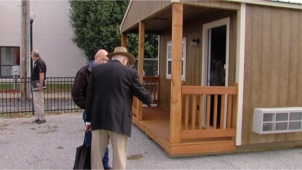 Tiny houses deployed to help homeless veterans in Southern Ill