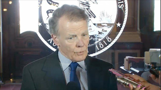 """Speaker Michael Madigan says his caucus wants a budget deal but won't  """"sacrifice what's important to the middle class"""" to do it."""