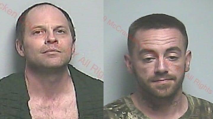 Josh Brown (L) and Matthew Hirt (R)
