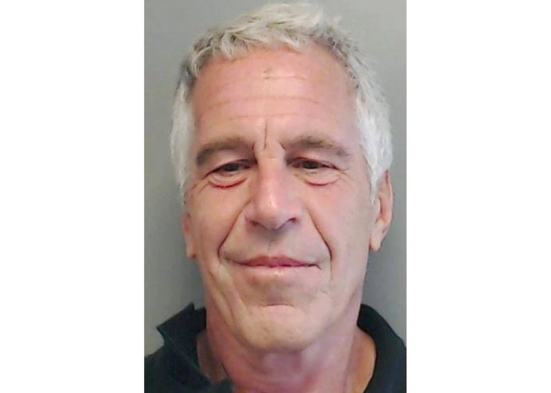 AP FILE - This July 25, 2013, file image provided by the Florida Department of Law Enforcement shows financier Jeffrey Epstein.