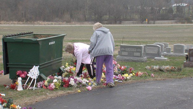 Families Outraged After Cemetery Decorations Removed Wsil Tv 3