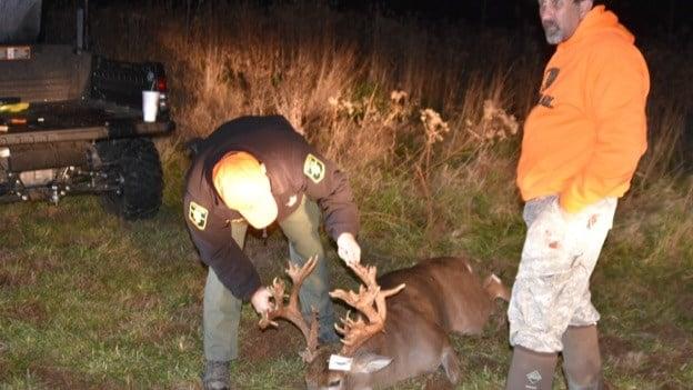 Local Hunter Kills Possible Record Breaking Buck