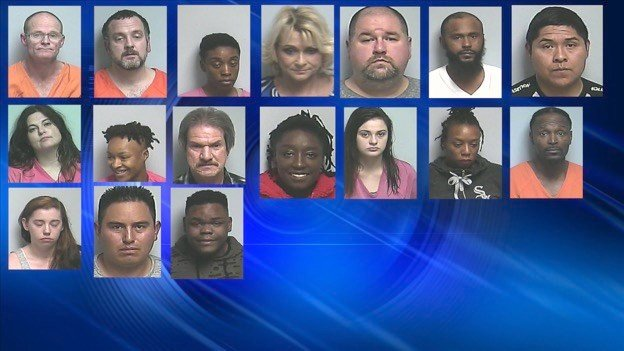 Nearly 20 arrested in prostitution bust - WSIL-TV 3 Southern