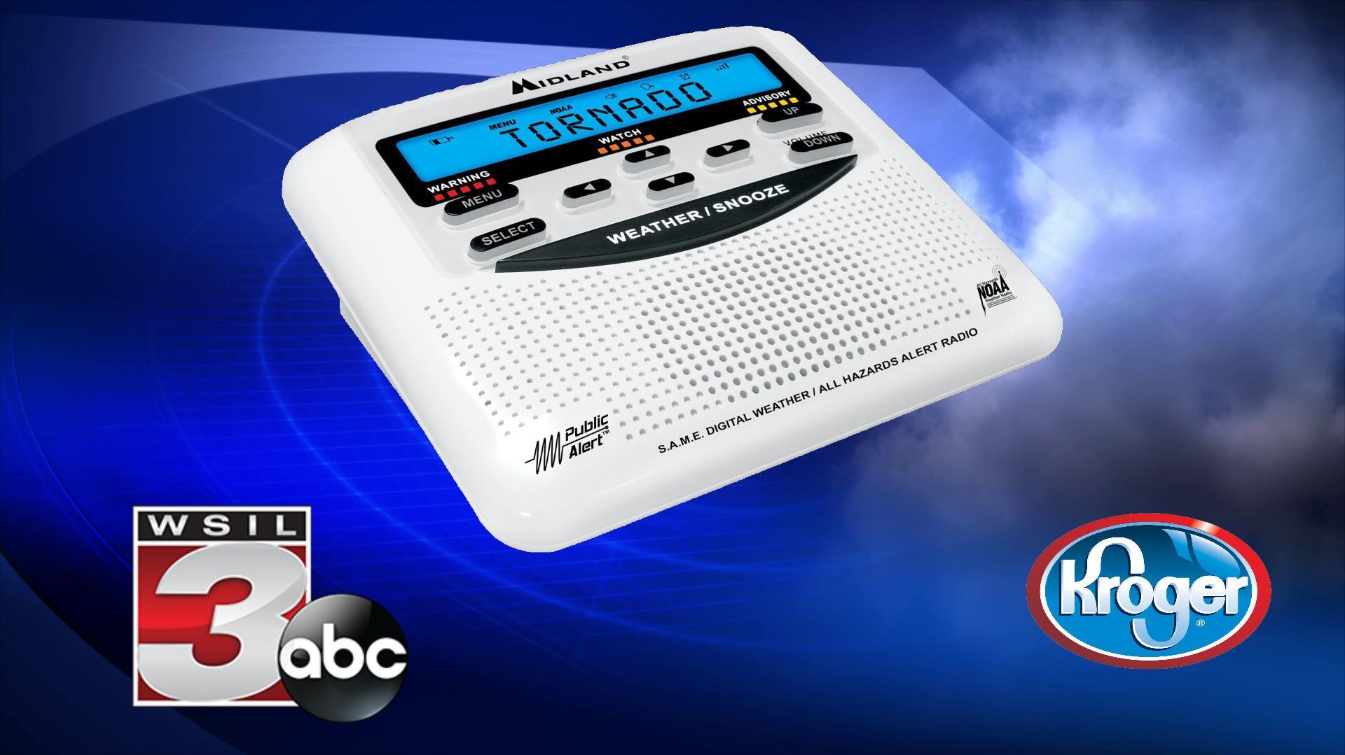 Weather radio programming: Marion Kroger - WSIL-TV 3