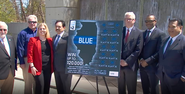 New Illinois Lottery ticket supports police memorials, fund