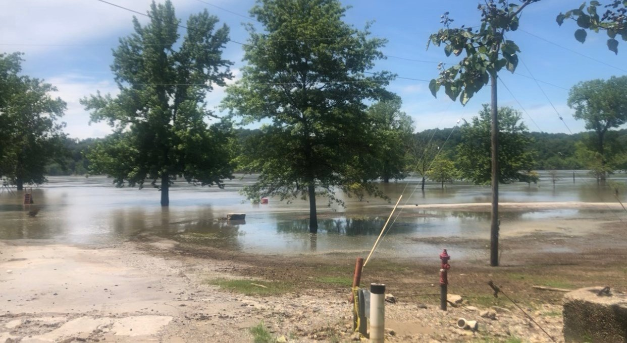 Grand Tower cancels fireworks due to flooding - WSIL-TV 3