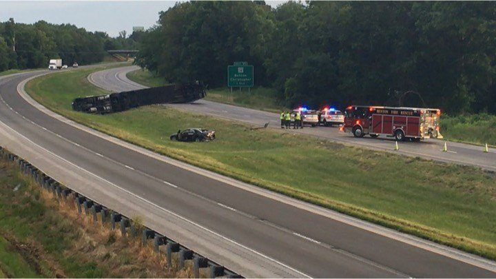 I-57 reopened in Franklin County following crash - WSIL-TV 3