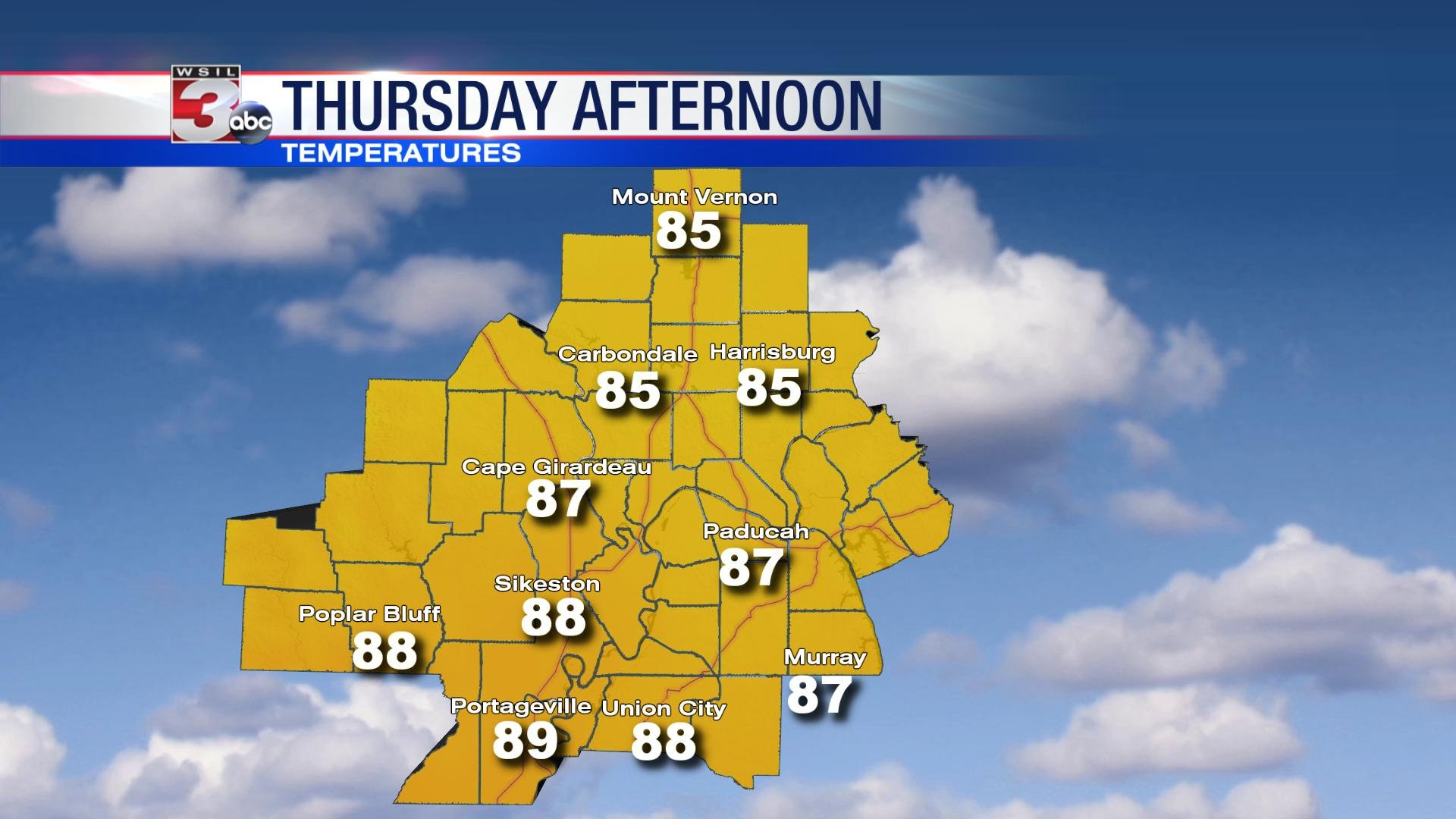 August's weather starts off where July left off - WSIL-TV 3