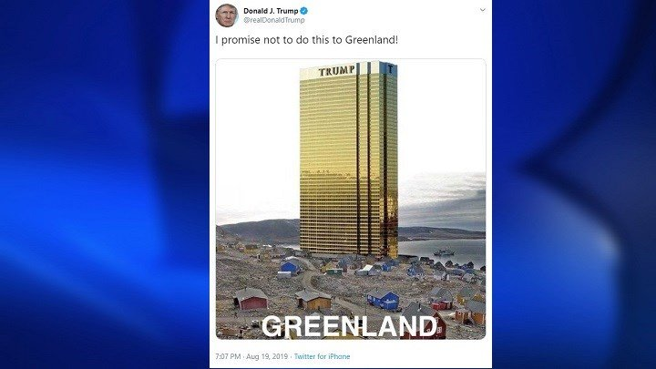 Image result for Greenland Trump Tower